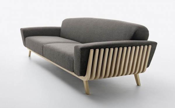 Hamper Sofa - Interior Design by Riva and Montanelli for Passoni Nature