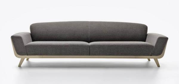 Hamper sofa   interior design by ezio riva and arturo montanelli ...