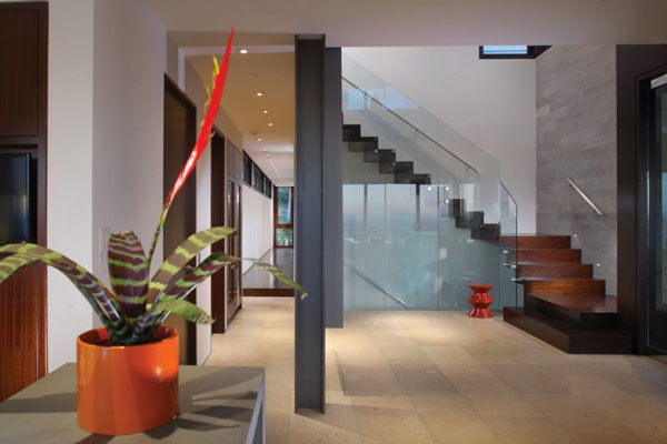 Inside the Strand Residence in Dana Point, California by Horst Architects