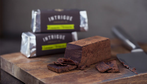 Intrigue Chocolate Co - Tasty Brand Identity by Jason Grube and Corianton Hale