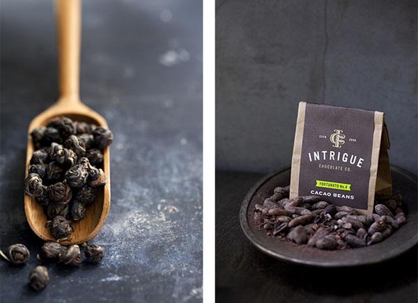 Intrigue Chocolate Co - Visual Identity