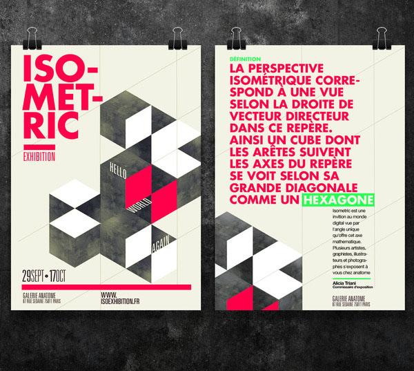 Graphic Poster Designs By Thomas Ciszewski For Isometric