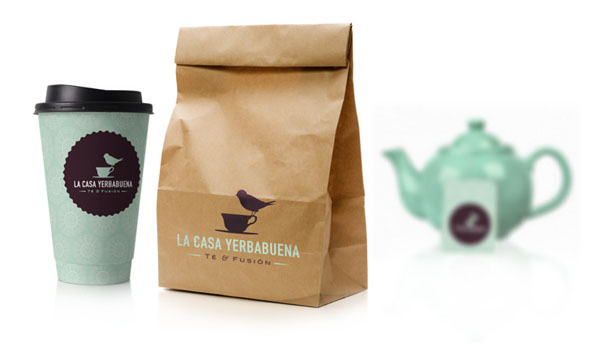 Tea House Identity And Packaging By Jos Guizar For La Casa Yerbabuena