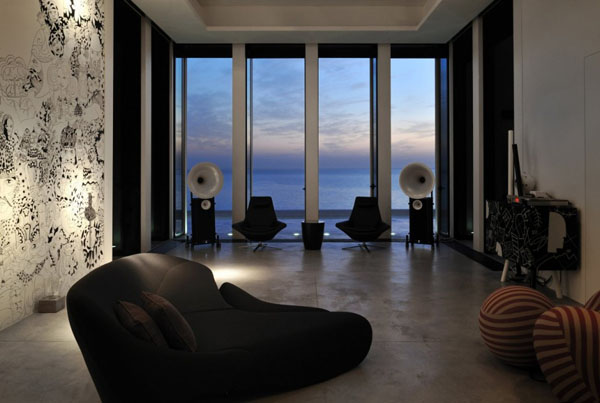 Luxury Interior of the Fidar Beach House in Lebanon by Raëd Abillama Architects