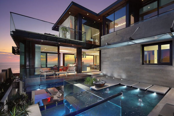Luxury Strand Residence in Dana Point, California by Horst Architects