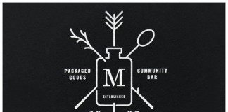 Maria's Packaged Goods and Community Bar -Logo Design