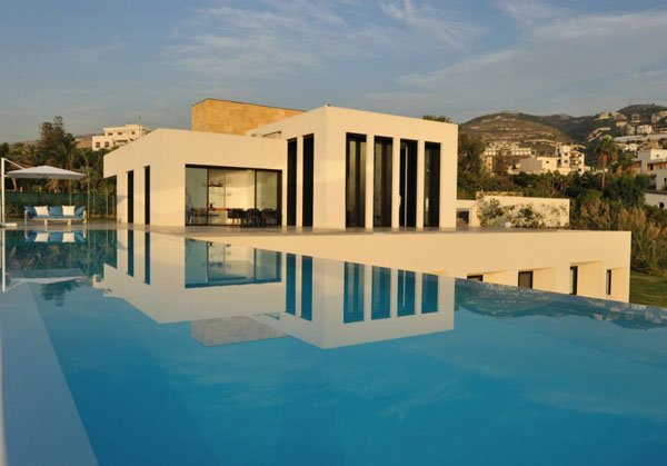 Summer beach house fidar in lebanon by ra d abillama for Modern house lebanon
