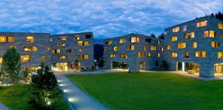 Rocksresort in Laax, Switzerland by Domenig Architekten