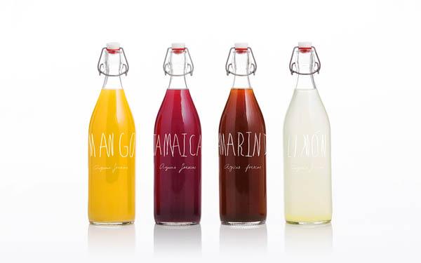 Santa Cruz - Mexican BBQ Restaurant - Bottle Design by Anagrama