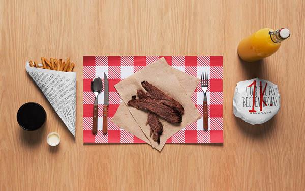 Santa Cruz - Mexican BBQ Restaurant - Identity by Anagrama