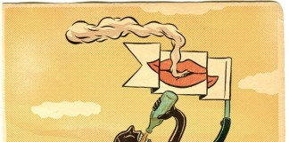Skater Illustration by Evan Hughes
