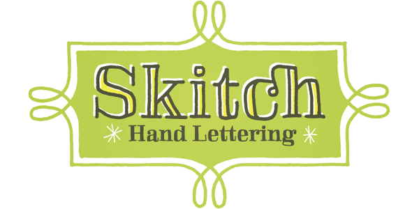 Skitch - Hand Lettering Type by Yellow Design Studio