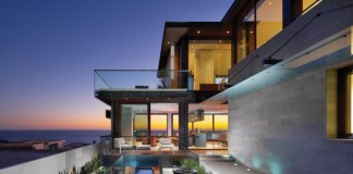 Strand Residence in Dana Point, California by Horst Architects