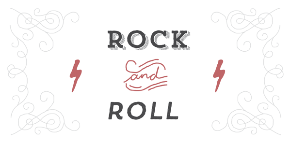 Trend Hand Made - Rock and Roll Typeface by Latinotype