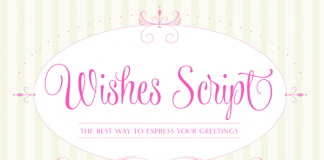 Wishes Script - Calligraphy Font by Typesenses