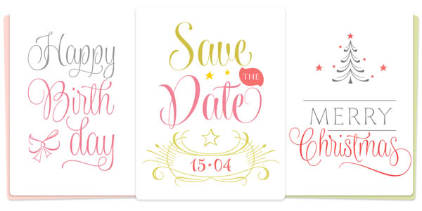 Wishes Script - Greetings Font Family