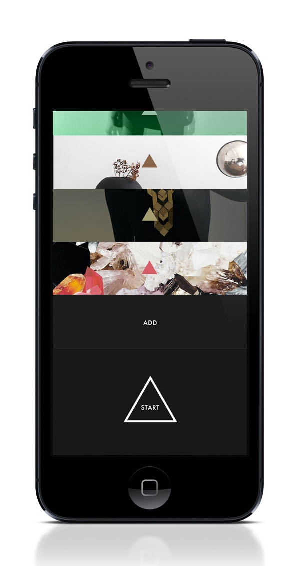 Next iphone app experiment by lasse kusk and daniel matzke for Designing an iphone app