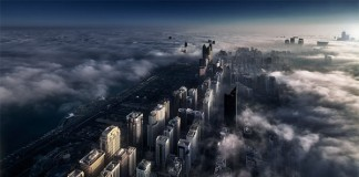 Abu Dhabi - Photographed from the 95th floor of The Domain by Beno Saradzic