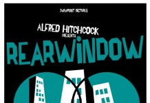 Alfred Hitchcock - Rear Window - Movie Poster by Saul Bass