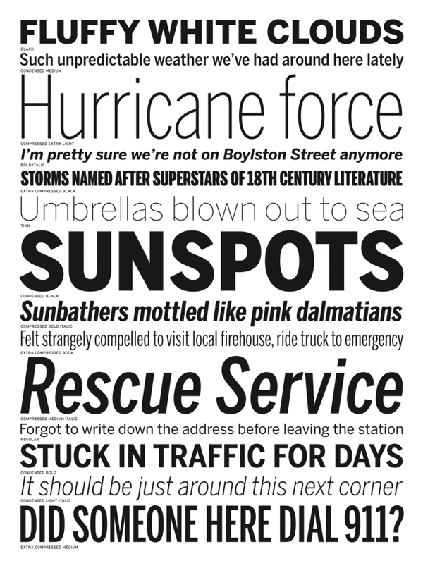 Benton Sans, a modern sans serif type family for multiple purpose. The font family is a redesign by the two font designers Cyrus Highsmith and Tobias Frere-Jones based on the News Gothic typeface, a 20th Century standard, designed in 1903 by Morris Fuller Benton.
