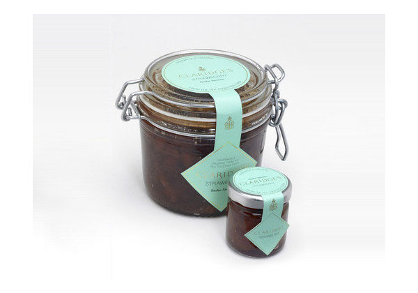 CLARIDGE'S - Jam Packaging Design