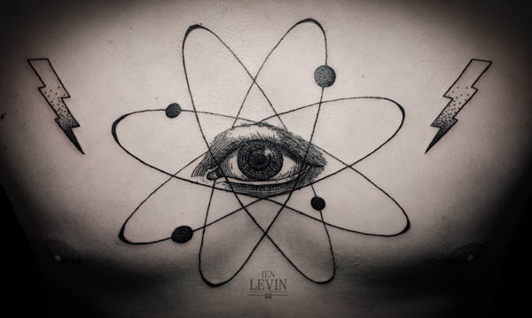 Contemporary Tattoo Design by Ien Levin