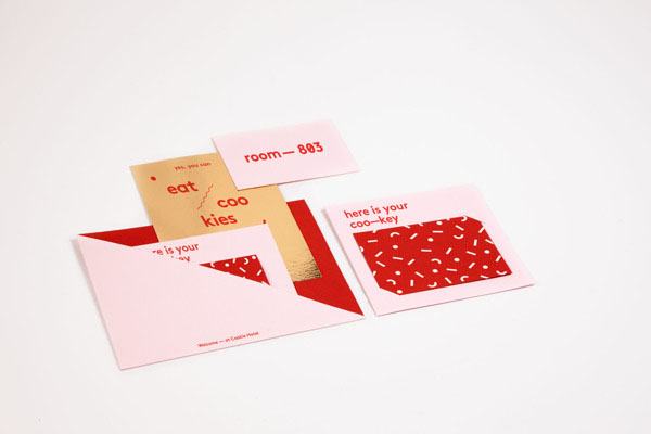 Cookie Hotel Berlin - Branding Material by Sebastian Berbig and Derya Ormanci