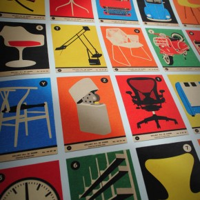 Design Classics A to Z - Retro Poster Illustration from 67 Inc