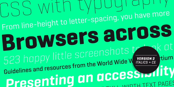 Geogrotesque - Regular and Italics - Type Family by Emtype Foundry
