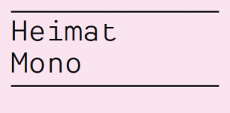 Heimat Mono - Monospaced Type Family by Atlas Font Foundry