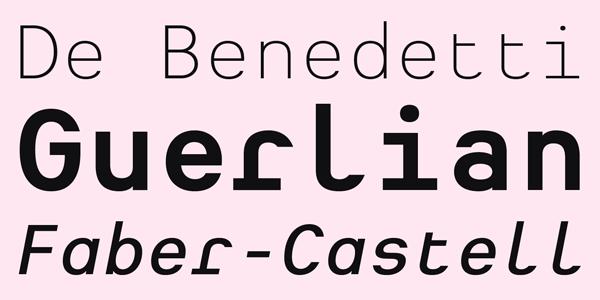 Heimat Mono - Type Example