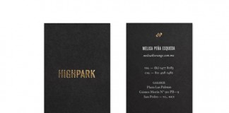 Highpark - Business Card Design by Studio Face