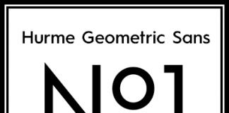 Hurme Geometric Sans No.1 - Font Design by Toni Hurme