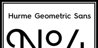 Hurme Geometric Sans No.4 - Font Family by Hurme Design