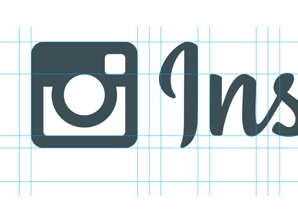 Instagram - Logo and Type Uniform Alignment by Mackey Saturday