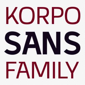Korpo Sans Font Family by Mateusz Machalski