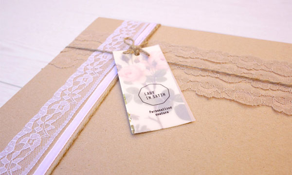 Lady in Satin - Label and Packaging by Carla Cascales Alimbau
