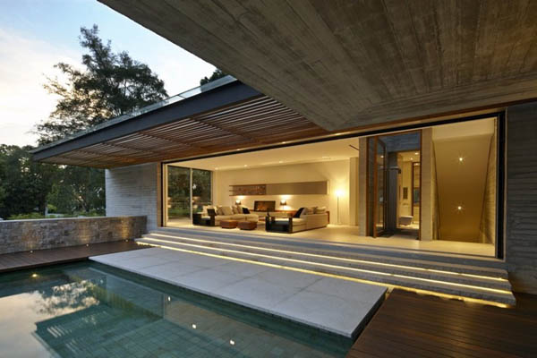 Luxurious Residence - JKC2 House by ONG&ONG