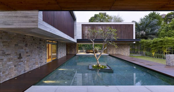 Luxury Architecture - JKC2 House by ONG&ONG