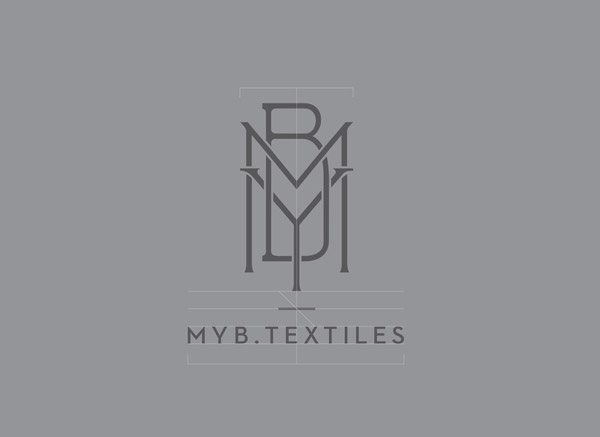 MYB Textiles Logo Design by Graphical House