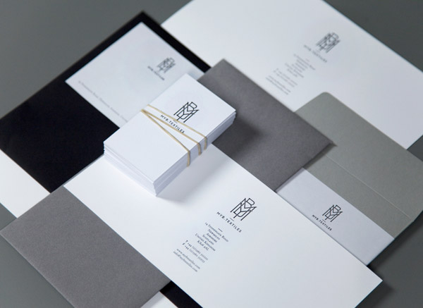 MYB Textiles Stationery Design by Graphical House