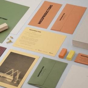 Massproductions - Graphic Identity by Britton Britton