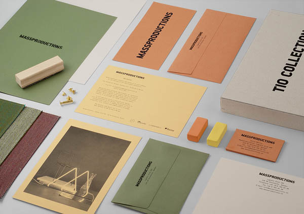 Massproductions Graphic Identity By Britton Britton