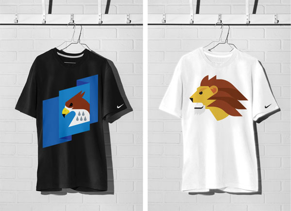 NIKE Animal Tees by Always With Honor