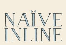 Naïve Inline - Serif Handwritten Font by Fanny Coulez for La Goupil Paris