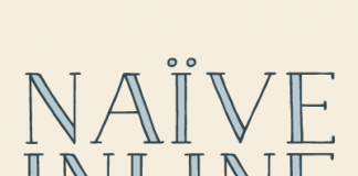 Naïve Inline - Serif Handwritten Font by Fanny Coulez for La Goupil Paris