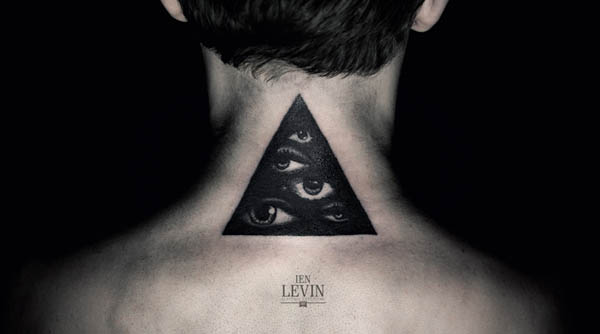 Neck Tattoo Design by Ien Levin