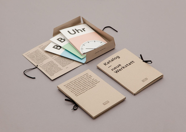 Neue Werkstatt - Communication Design Concept