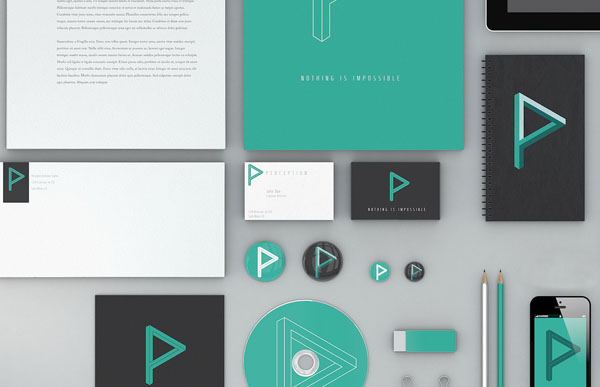 Perception - Brand Identity by Hunter Langston