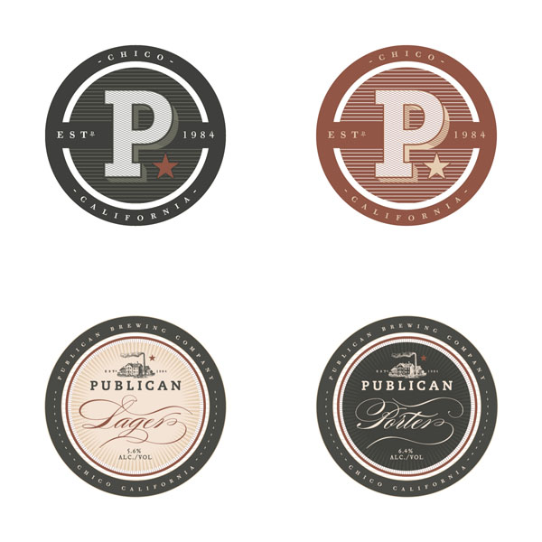 Publican Brewery - Branding and Packaging Design by Daniel Guillermo